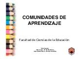 Presentación inicial Seminario de Voluntariado en Comunidades Aprendizaje   Universidad de Córdoba