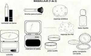 Maquillaje (Diccionario visual)