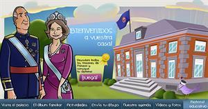 Área infantil de la Casa de Su Majestad el Rey de España: actividades educativas y juegos para dar a conocer la Monarquía Parlamentaria