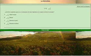Test sobre la atmósfera (Colegio Nuestra Señora de la Sabiduría)