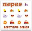 Generador de fichas de series de repetición con imágenes de apoyo (Lola Pirindola)