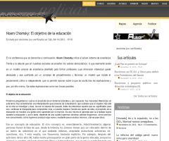 Noam Chomsky: El objetivo de la educación