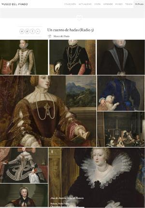 Un cuento de hadas. Recorridos del Museo del Prado