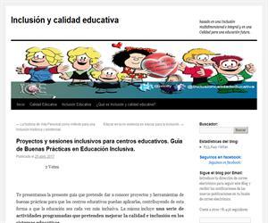 Proyectos y sesiones inclusivos para centros educativos. Guía de Buenas Prácticas en Educación Inclusiva.