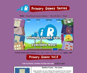 Primary Games: aprende matemáticas y practica inglés.