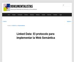 Linked Data: El protocolo para implementar la Web Semántica