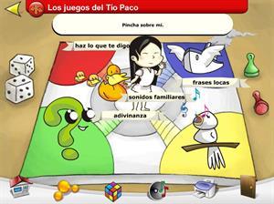 Los juegos del tío Paco. Comprensión auditiva para Educación Especial