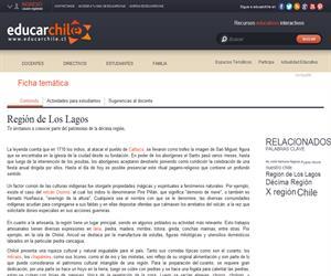 10ma Región Patrimonio Regional (Educarchile)