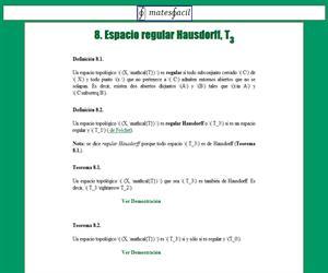 Espacio regular Hausdorff (T3)