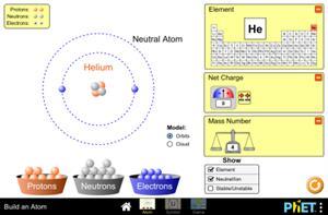 Costruisci un atomo