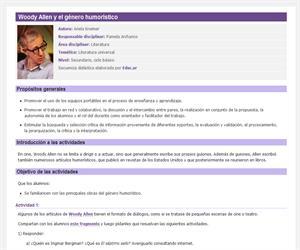 Woody Allen y el género humorístico