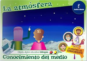 La atmósfera. Unidad bilingüe (Cuadernia)
