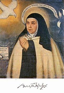 Santa Teresa de Jesús, la religiosa que no quiso serlo.