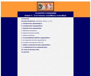 Unidad didáctica para filosofía y ciudadanía
