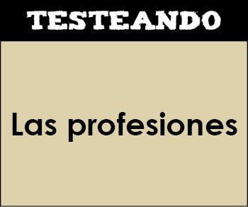 Las profesiones. 2º Primaria - Inglés (Testeando)