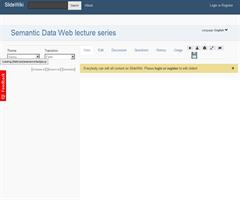 Semantic Data Web lecture series