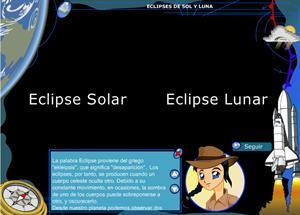 Eclipse de sol y luna. 3º ciclo de Primaria