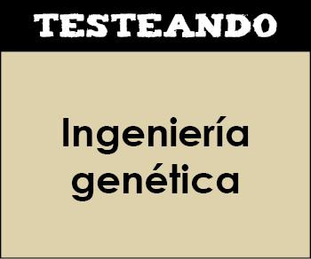 Ingeniería genética. 2º Bachillerato - Biología (Testeando)