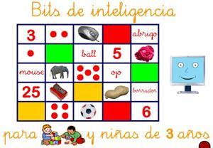 Informática de niños: Bits de inteligencia para Educación Infantil
