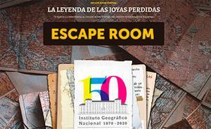 Escape Room Virtual IGN. La leyenda de las joyas perdidas