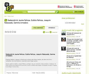 Redescobrint Jaume Pahissa. Eulàlia Pahissa, Joaquim Rabasseda, Gemma Armadans (Edu3.cat)