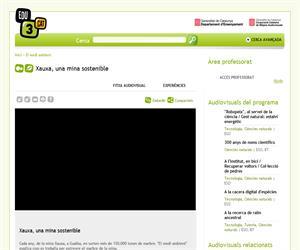 Xauxa, una mina sostenible (Edu3.cat)