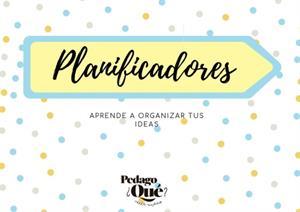 Planificadores para aprender a organizar tus ideas