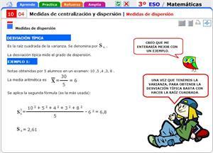Medidas de dispersión. Matemáticas para 3º de Secundaria