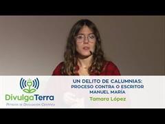 Un delito de calumnias: proceso contra o escritor Manuel María