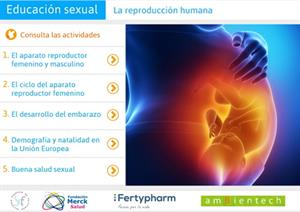 Educación sexual, la reproducción humana