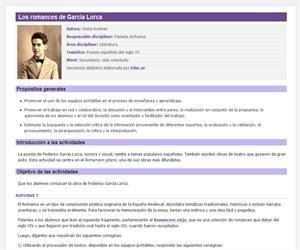 Los romances de García Lorca