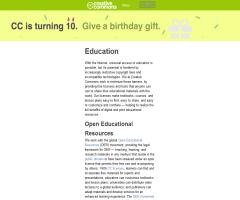 Education - Creative Commons