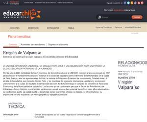 V Región Valparaiso (Educarchile)