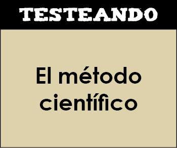 El método científico. 3º ESO - Física y química (Testeando)