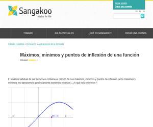 Máximos, mínimos y puntos de inflexión de una función