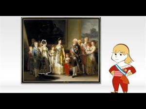 La familia de Carlos IV para niños