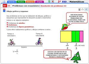 Resolución de problemas con ecuaciones III. Matemáticas para 2º de Secundaria