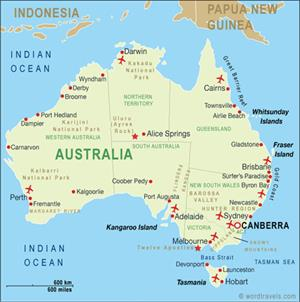 Webquest: fancy a trip to australia?  (Mestre a Casa)