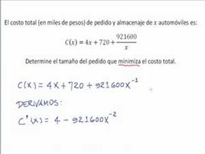 Problema 1 de optimización (JulioProfe)