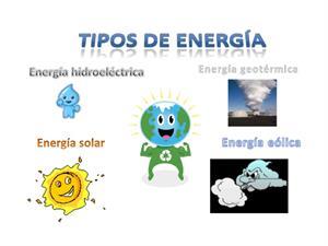 Identifica qué tipo de energía necesitamos