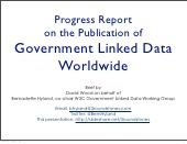 Progress Report on Government Linked Data Worldwide