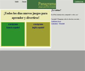 Crucigramas bilingües para aprender el francés y el inglés