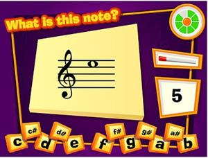 Name that Note, un juego para educación musical