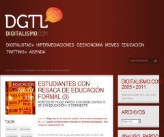 Estudiantes con resaca de Educación Formal (Hugo Pardo Kuklinski)