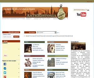 ARTEHISTORIA, la página del Arte y la Cultura en Español