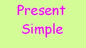 Exercises: Present Simple (saberingles)