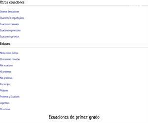 Ecuaciones con fracciones y con paréntesis