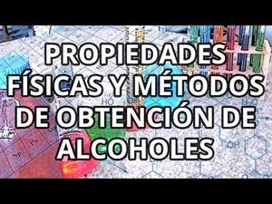 Alcoholes I
