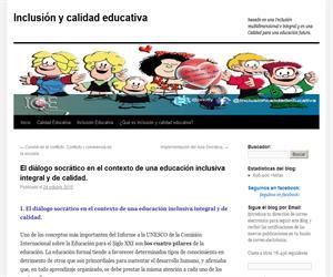 El diálogo socrático en el contexto de una educación inclusiva integral y de calidad.