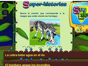 Superhistorias, un juego para Lengua de Primaria.  Edicinco.
